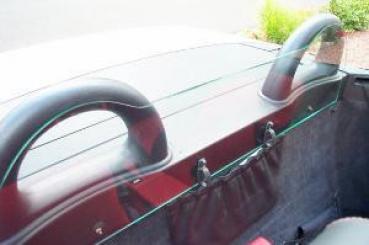 windschott aus echtglas f r mercedes slk r170 xcar style. Black Bedroom Furniture Sets. Home Design Ideas
