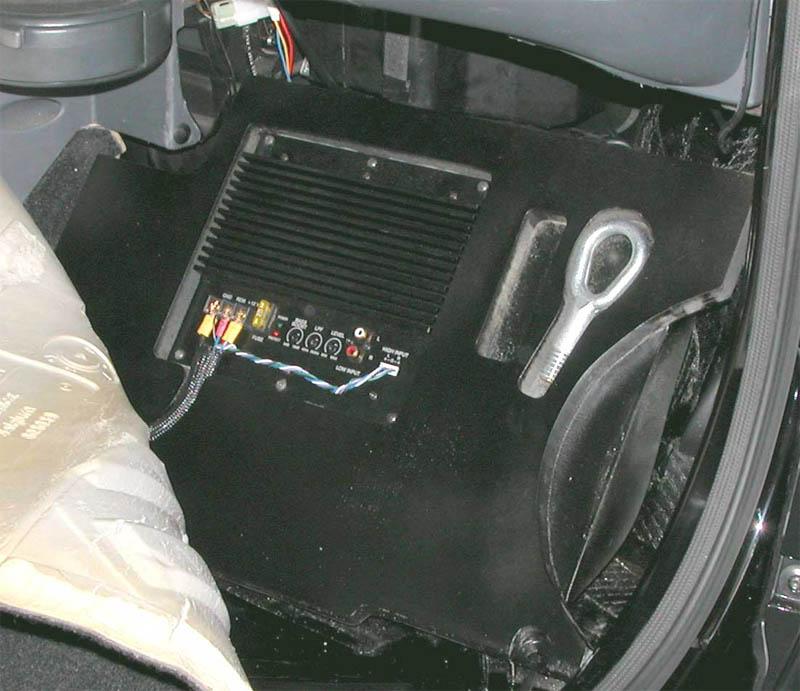 smart subwoofer fortwo 1 passiv xcar style. Black Bedroom Furniture Sets. Home Design Ideas
