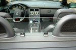 Mercedes SLK R170 Glass Windblocker high + Roll bar cover